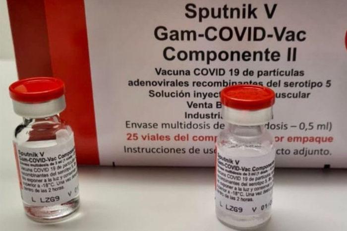 Segundas dosis Sputnik V