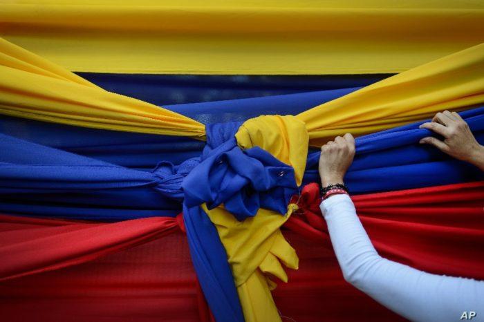 Venezuela bandera México negociación