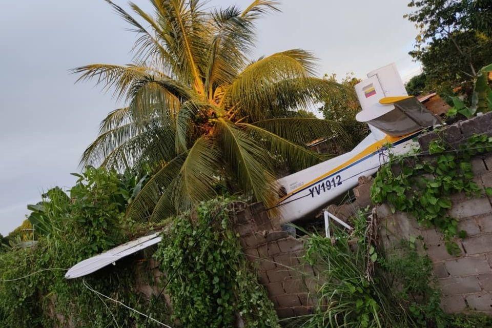 avioneta estrellada Maturín