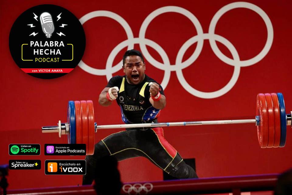 Keydomar Vallenilla: Cuando recibí la medalla supe que no estaba soñando