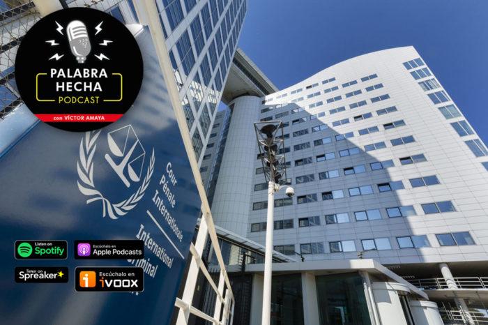 portada podcast CPI Corte Penal