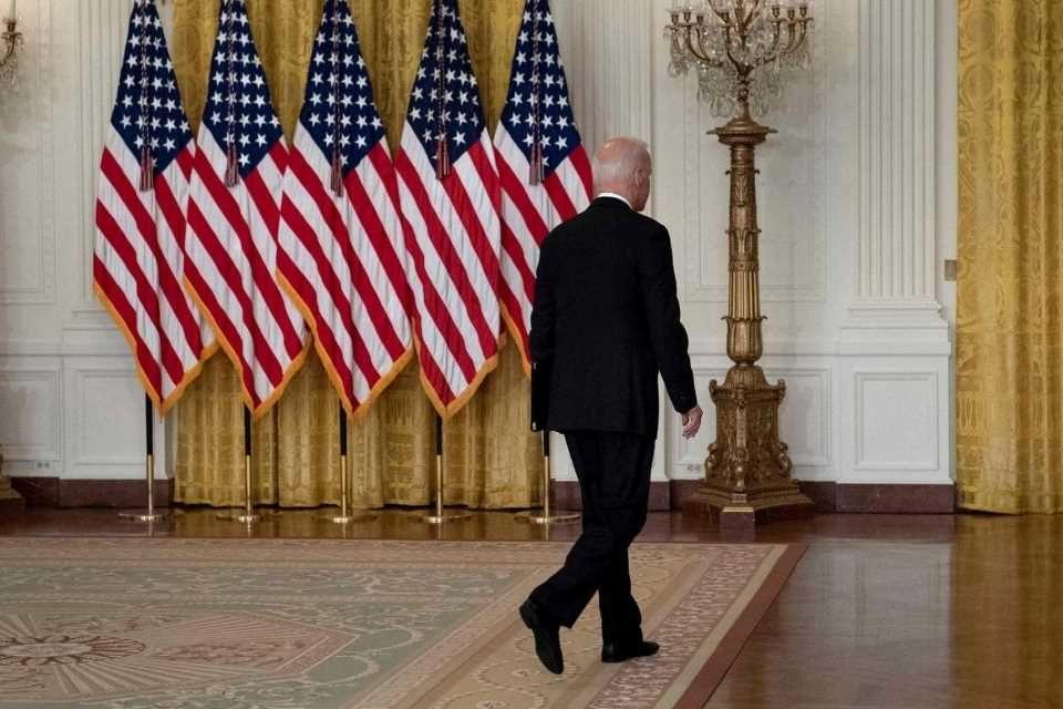¿Hacia dónde va Biden? afganistán