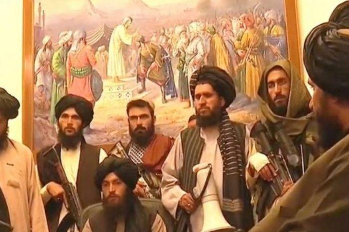 Talibanes Afganistán Palacio presidencial Kabul