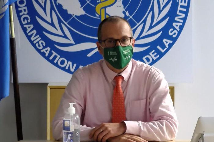el director de OMS-Europa, Hans Kluge. Pandemia