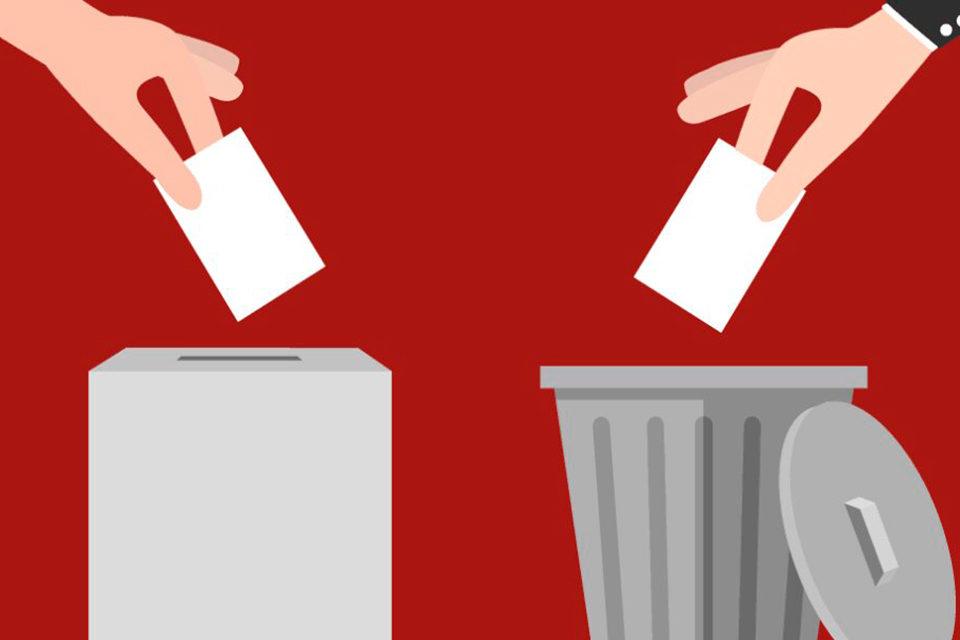 Ahora el voto es el castigado