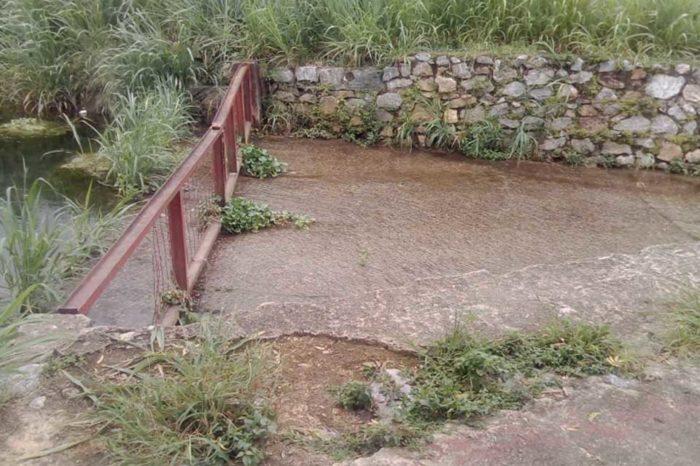 En Las Mayas están en alerta ante posible desborde