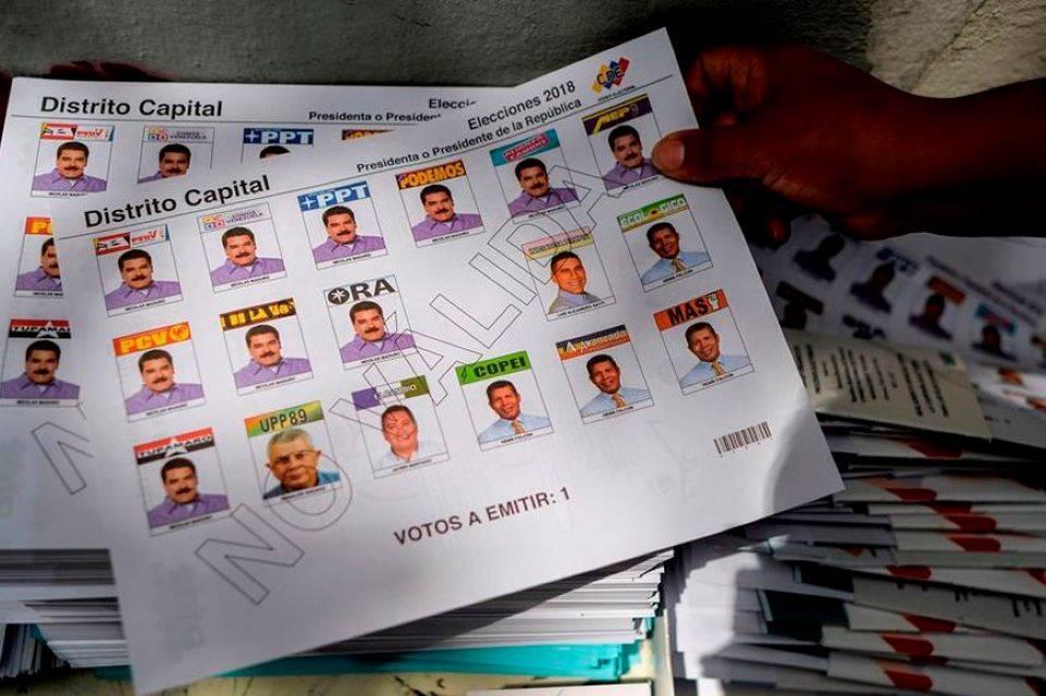 Sustituciones de candidatos en boleta electoral