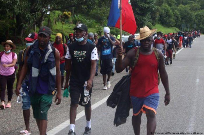 Caravana migrantes México EEUU