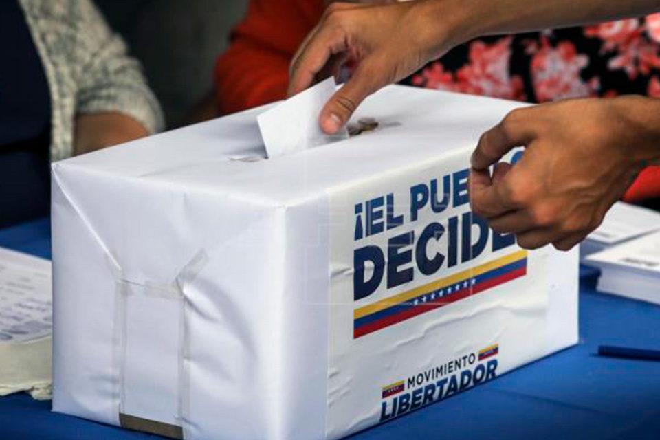 Convertir el 21-11 en un plebiscito contra el régimen