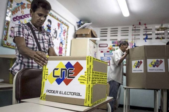 Elecciones Votación regionales Caracas