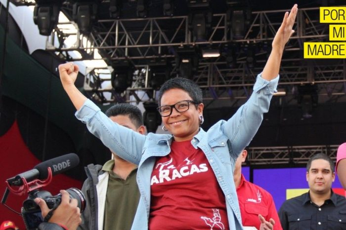 Erika Farias PSUV Por mi Madre Libertador