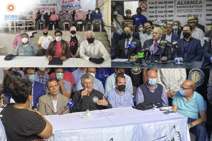 #GuachimanElectoral Falta de consenso y alianzas frágiles marcan chavismo y oposición