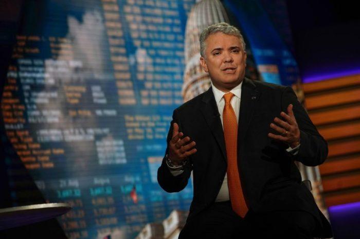 Ivan Duque Colombia Bloomberg