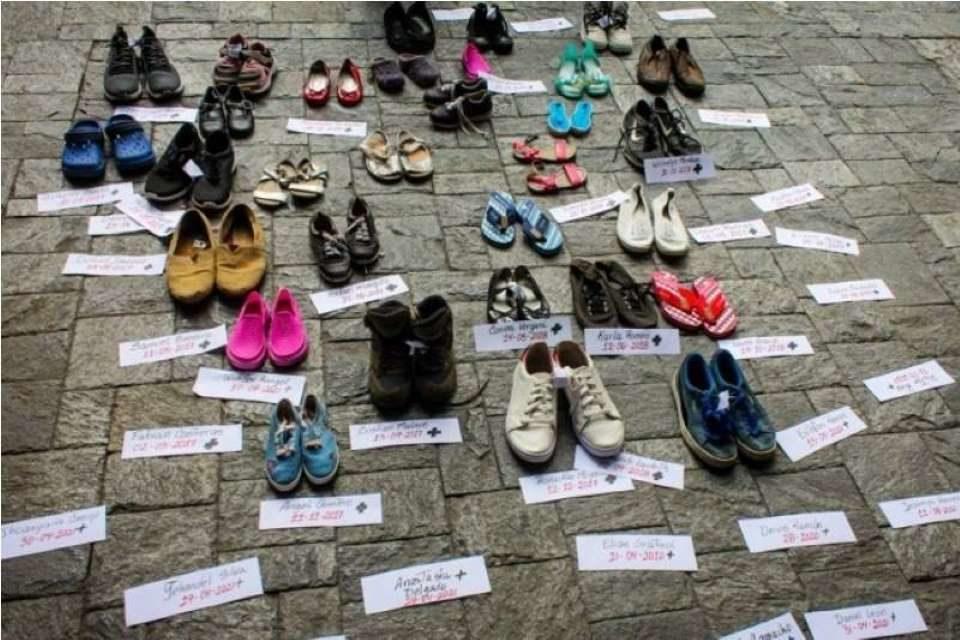 Los deditos de sus pies