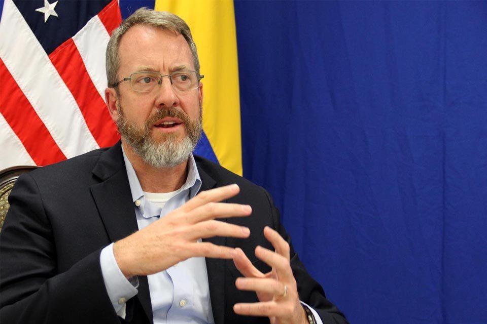 """Embajador James Story espera luz verde para entrega de Alex Saab: """"No sabemos cuándo será"""""""