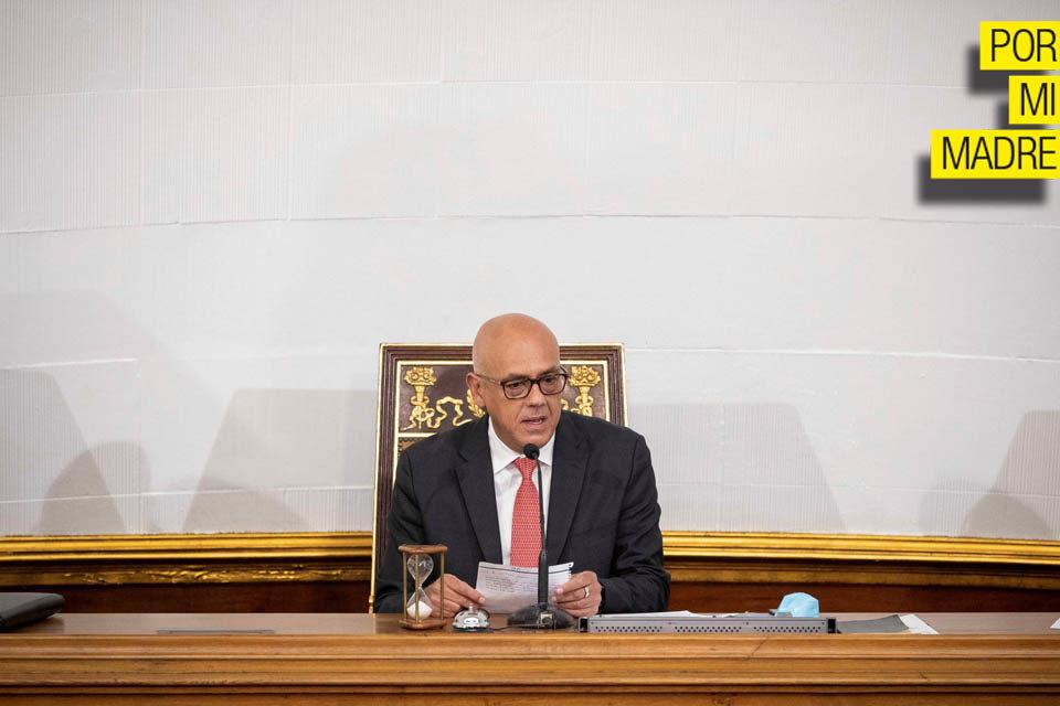 Jorge Rodriguez Por Mi Madre Asamblea Nacional