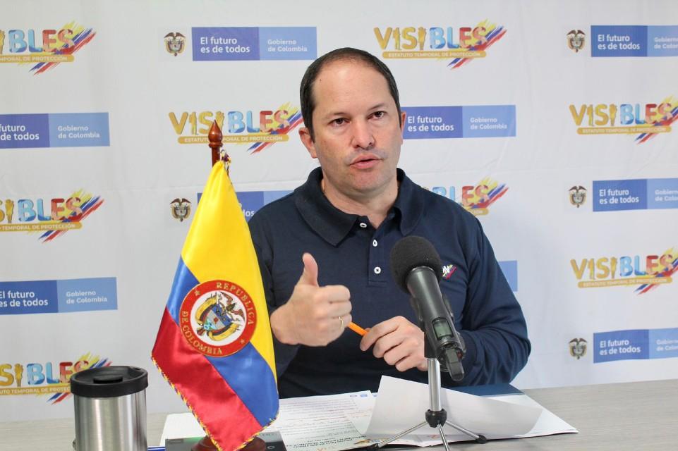 Juan Francisco Espinosa Migracion Colombbia ETP