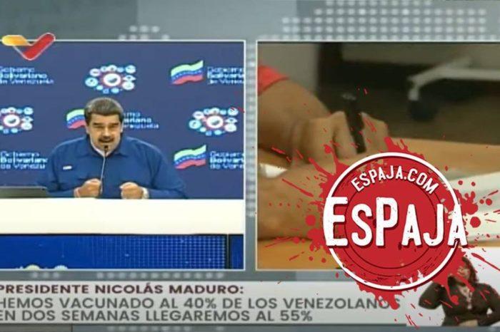 Maduro EsPaja vacunacion covid-19
