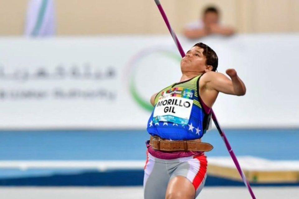 Naybis Morillo paralímpicos Tokio 2020