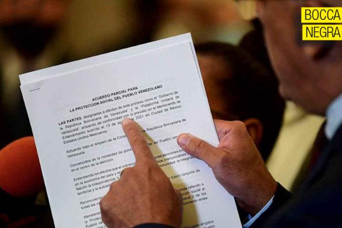 acuerdo parcial proteccion social mexico oposicion chavismo boccanegra