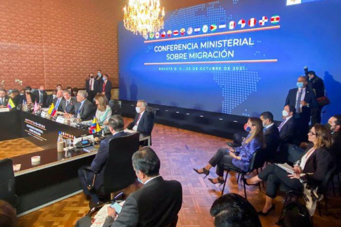 Conferencia ministerial migracion Colombia