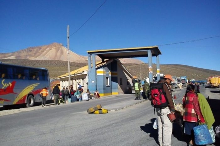 Frontera entre Bolivia y Chile