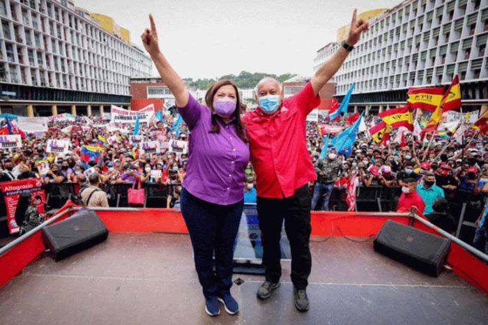 PSUV DIOSDADO CARMEN MELENDEZ CAMPAÑA 2021
